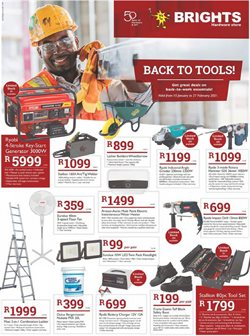 DIY & Garden offers in the Brights Hardware catalogue in Polokwane ( Expires tomorrow )