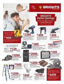 DIY & Garden offers in the Brights Hardware catalogue in Cape Town ( 17 days left )