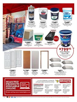 Doors, windows & shutters offers in the Brights Hardware catalogue in Cape Town