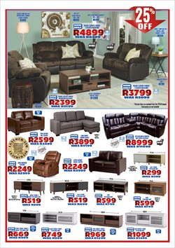 Living room offers in the Decofurn Factory Shop catalogue in Cape Town