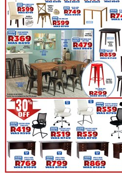 Table offers in the Decofurn Factory Shop catalogue in Cape Town
