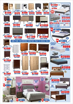 Headboard offers in the Decofurn Factory Shop catalogue in Cape Town