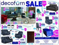 Decofurn deals in the Cape Town special