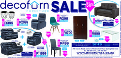 Decofurn deals in the Durban special