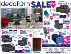 Decofurn deals in the Johannesburg special