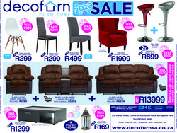 Home & Furniture offers in the Decofurn catalogue in Durban