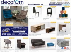 Home & Furniture offers in the Decofurn catalogue in Pretoria ( Expires today )