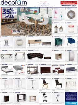 Home & Furniture offers in the Decofurn catalogue in Port Elizabeth ( Expires today )