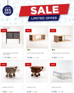 Home & Furniture offers in the Decofurn catalogue ( 6 days left )