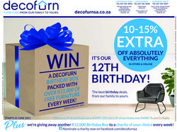 Home & Furniture offers in the Decofurn catalogue ( 14 days left)