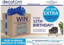 Home & Furniture offers in the Decofurn catalogue ( 6 days left)