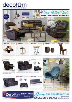 Home & Furniture offers in the Decofurn catalogue ( 9 days left)