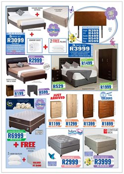 Wardrobe with drawers offers in the Decofurn Factory Shop catalogue in Cape Town