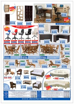 Shelving offers in the Decofurn Factory Shop catalogue in Cape Town