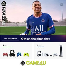 Game4U offers in the Game4U catalogue ( 2 days left)