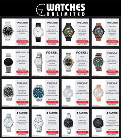 Watches Unlimited catalogue ( Expired )