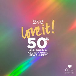 Luxury brands offers in the NWJ catalogue ( 1 day ago)