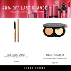 Bobbi Brown offers in the Bobbi Brown catalogue ( 9 days left)