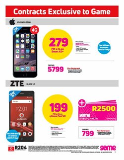 IPhone 6 offers in the Game catalogue in Cape Town