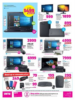 Storage media offers in the Game catalogue in Cape Town