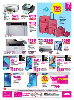 Printer offers in the Game catalogue in Cape Town