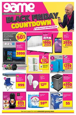 Electricals & Home Appliances offers in the Game catalogue in East London