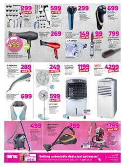 Air conditioner offers in the Game catalogue in Cape Town