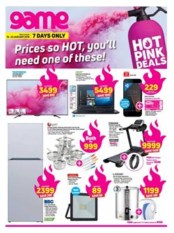 Electricals & Home Appliances offers in the Game catalogue in Johannesburg