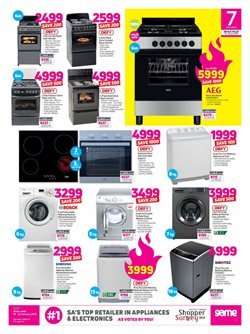 Washing machine offers in the Game catalogue in Cape Town