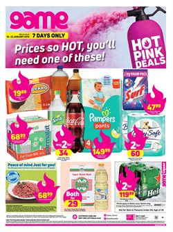 Electricals & Home Appliances offers in the Game catalogue in Cape Town