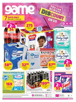 Electricals & Home Appliances offers in the Game catalogue in Rustenburg
