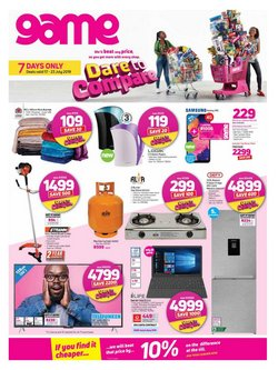 Game deals in the Midrand special