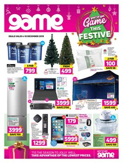 Game deals in the Pietermaritzburg special
