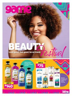 Beauty & Pharmacy offers in the Game catalogue in Port Elizabeth