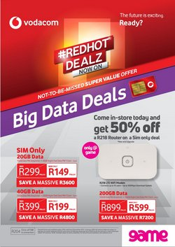 Electronics & Home Appliances offers in the Game catalogue in Durban