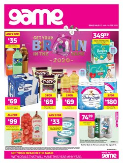 Game deals in the Pretoria special