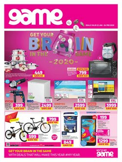 Electronics & Home Appliances offers in the Game catalogue in Cape Town