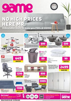 Electronics & Home Appliances offers in the Game catalogue in Port Elizabeth