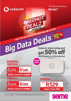 Electronics & Home Appliances offers in the Game catalogue in Cape Town ( 26 days left )