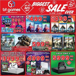 BT Games deals in the Johannesburg special