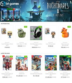 BT Games catalogue ( Expired )