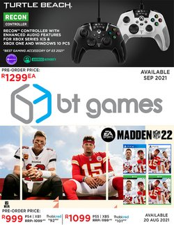 BT Games offers in the BT Games catalogue ( Published today)