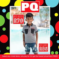 Pq Clothing In Tembisa Specials And Catalogue