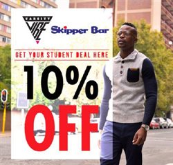 Skipper Bar deals in the Johannesburg special