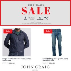 Levi's offers in the John Craig catalogue ( 1 day ago)