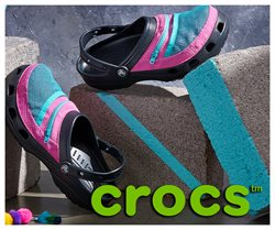 Crocs offers in the Crocs catalogue ( More than a month)