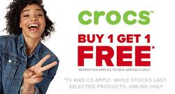 Crocs deals in the Johannesburg special