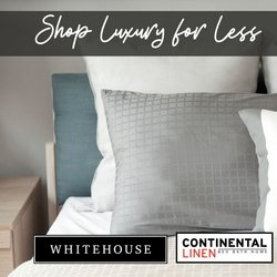 Home & Furniture offers in the Whitehouse catalogue ( 8 days left )