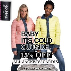Nicci offers in the Nicci catalogue ( Expires today)