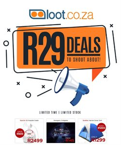 Loot deals in the Johannesburg special